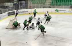 Ekipa U-20 z lepo zmago zaključila prvenstvene tekme na domačem ledu