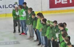U-12 / U-14 Predstavitev na tekmi HDD Olimpija 12.4.2017