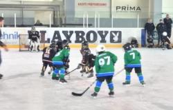 Hokej šola 28.10.2017 Turnir v Zalogu Ekipi U-8