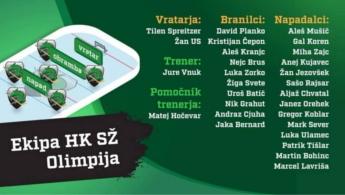 Pričetek članske sezone 2018/19